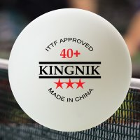 KINGNIK 40+ 3 STAR POLY BALLS - CLUB PACK OF 144 (24 BOXES)